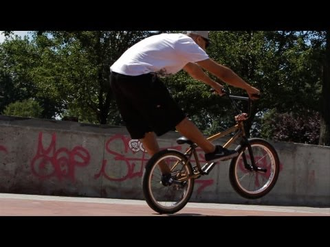 How to Manual | BMX Bike Tricks