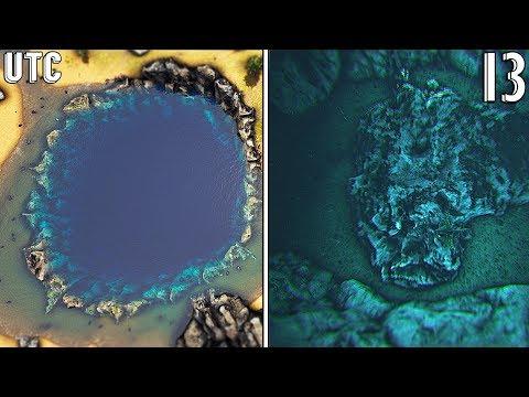 Meteor Impact! Ark Ragnarok Crater Island :: Ragnarok