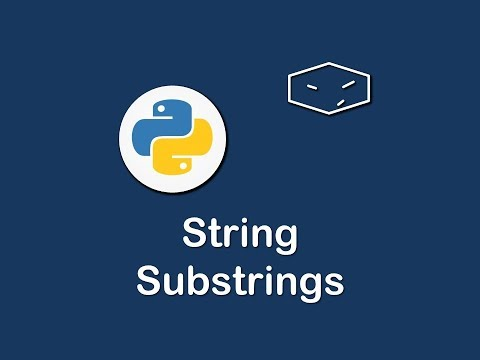 string substrings in python