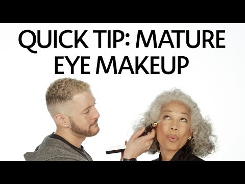 Quick Tip: How To Apply Makeup For Mature Eyes   Sephora