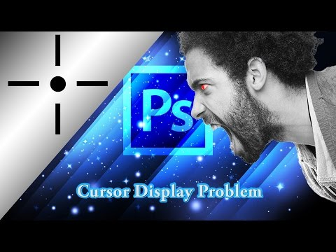 Photoshop Brush Problem [Shows a Cross Instead of Circle] | Short Tutorial | Photoshop Patterns