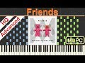 Marshmello & Anne Marie - Friends I Piano Tutorial & Sheets by MLPC