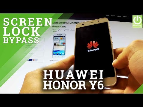 How to Remove Pattern in HUAWEI Honor Y6 SCL-L01 - Hard Reset Solution