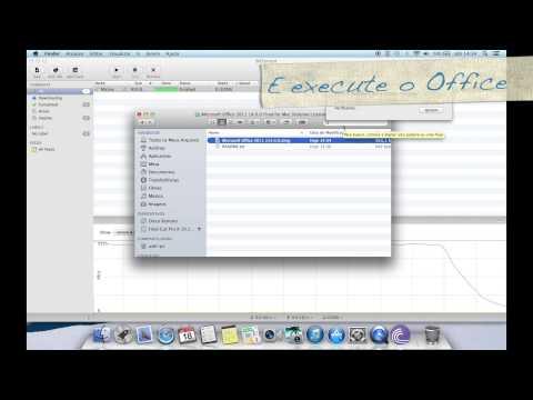Como instalar Office 2011 (MAC) PT/BR
