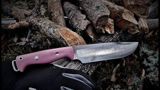 Bark River Knives JX5 vs  Gränsfors Bruk Outdoor Axe - ROUND 1