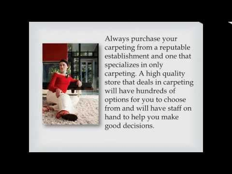 How To Choose The Perfect Carpeting For Your Home