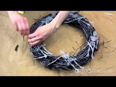 Quick DIY Halloween Wreath