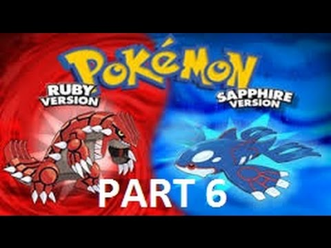 pokemon ruby/sapphire walkthrough part 6-2nd gym and hm flash