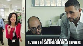 Reazione del Capo al video di Castiglione delle Stiviere