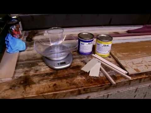 Bow Building – Fiberglass Backed Laminated Flat Bow – Part 4 of 8