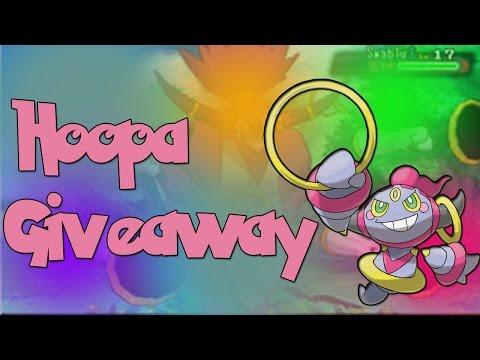 Pokemon  Hoopa Giveaway Winner Announced Next Week! Omega Ruby & Alpha Sapphire (closed)