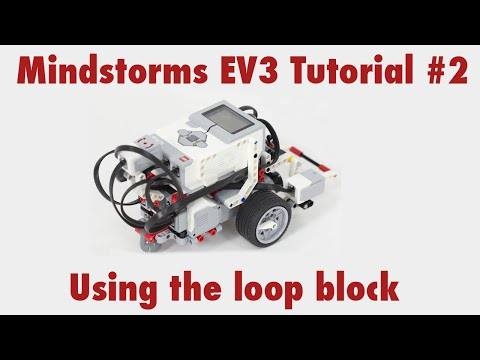 Mindstorms EV3 Tutorial #2: Drive in a square using a loop block