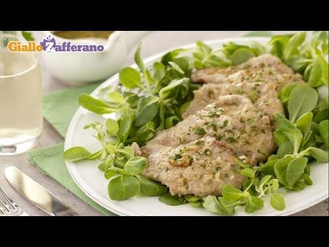 Veal cutlets with parsley ( scaloppine al prezzemolo ) recipe