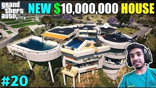HE GIFTED ME NEW LUXURY HOUSE | GTA V GAMEPLAY #20