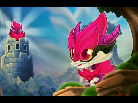RED ROSE DRAGON Review Full Level Up in Dragon City