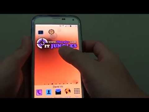 Samsung Galaxy S5: How to Quickly Invert Screen Color With Home Key