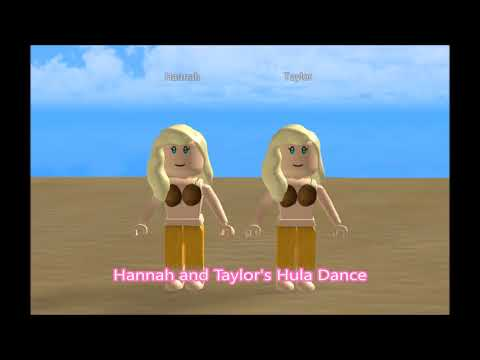 Hannah and Taylor's Hula Dance