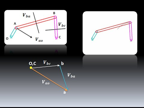 Velocity analysis of four bar mechanism tubeload search thumbnail how to draw velocity diagram ccuart Choice Image