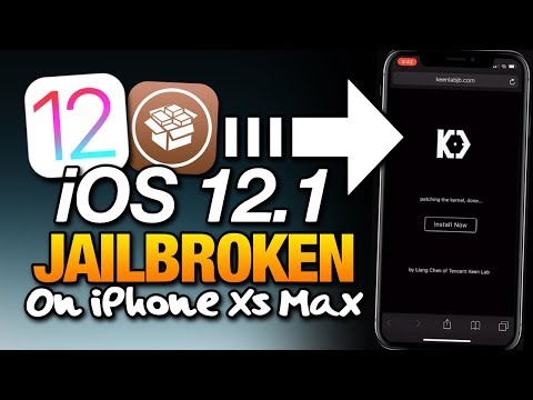 UPDATE iOS 12.1 JAILBROKEN! On iPhone Xs Max A12 KEENLAB Liang Chen