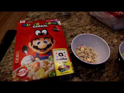 Got My Mario Bros Cereal from Target for about $3.  It tastes sort of like lucky charms.