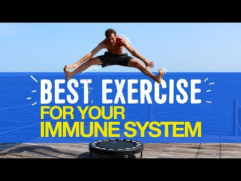 Rebounding: The Best Exercise for your Immune System