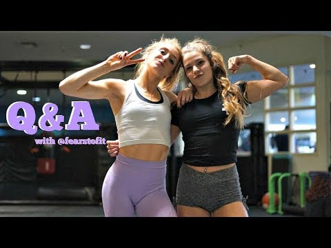 Kendall & Lex Answer Your ?'s| ED Recovery, Competing, Bloating & SO MUCH MORE:)