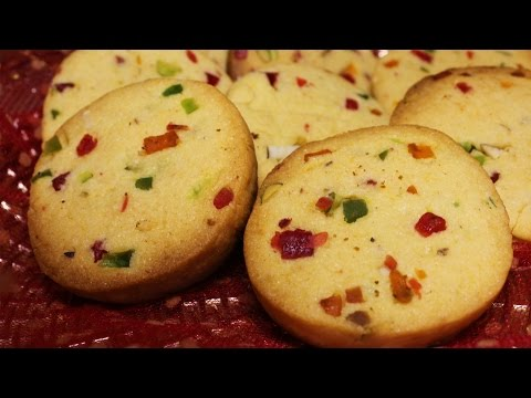Eggless Tutti Frutti Cookies | Christmas Special Recipe | Easy Homemade Cookies Reicipe