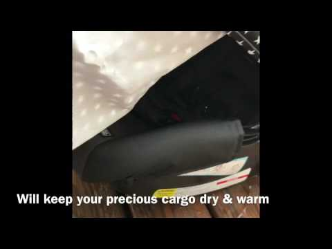 Car Seat Canopy - 100% Waterproof and Breathable