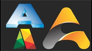 Alphabetical Logo Design A