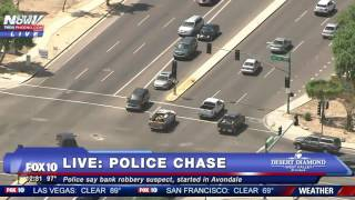 GRAPHIC ENDING To Phoenix Police Chase: Viewer Discretion IS ADVISED - FNN