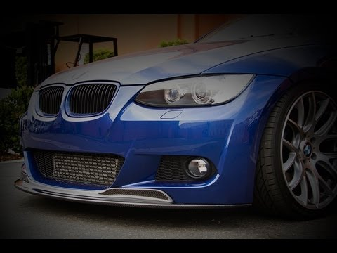 Carbon Fiber CPS Front Lip installed on BMW E92 335i at ModBargains
