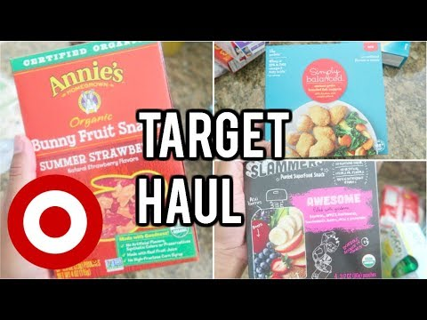 TARGET HAUL! GROCERY AND CLEANING SUPPLIES