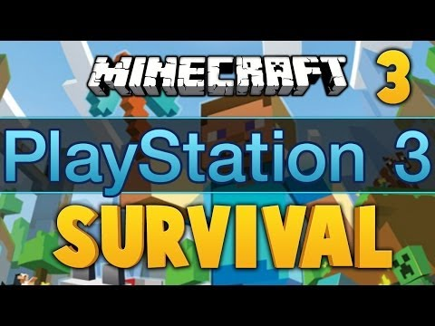 Minecraft PS3 ★ SURVIVAL, Ep.3 ★ Dumb and Dumber