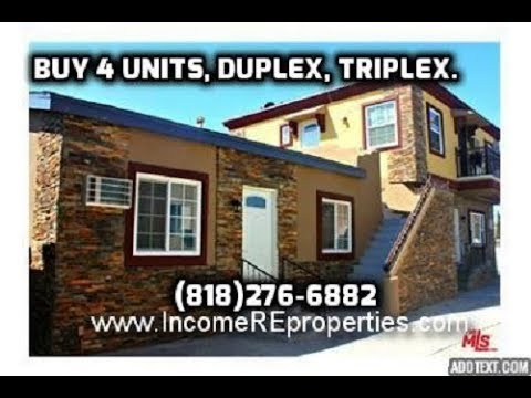 Triplex For Sale FIXER San Fernando valley - multi-family - income property SE VENDE