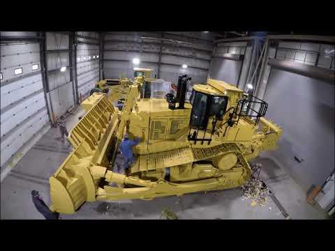 Ritchie Bros. heavy equipment refurbishing time-lapse