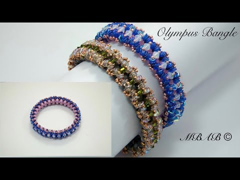 Olympus Bangle Custom Beaded Jewelry