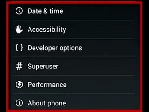 How To Enable / Disable Developer Option Android
