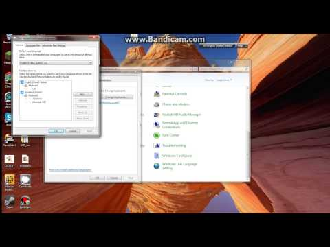 HOW TO: Get a Language Bar on Windows 7