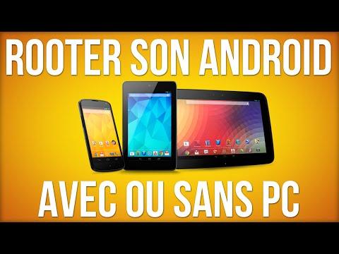Rooter son Android avec ou sans PC !