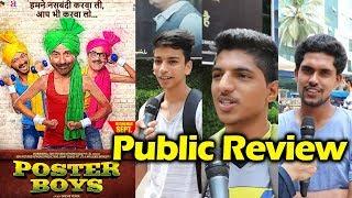 Poster Boys Public Review | First Day First Show | Sunny Deol, Bobby Deol, Shreyas Talpade