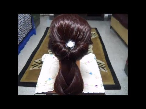 A Simple, Easy and Quick Hairstyle.