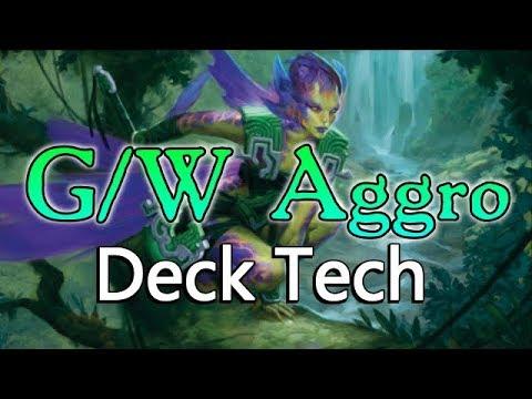 Mtg Deck Tech: G/W Aggro in Ixalan Standard!