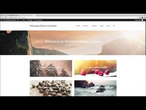 Page Header in Pinnacle Premium Wordpress Theme