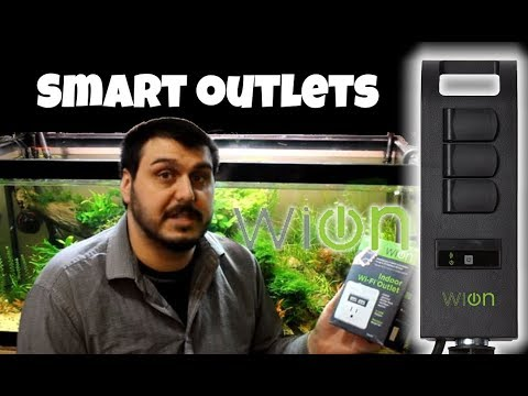 Make Your Fish Room Smarter With WiOn Smart WiFi Outlets & Power Bars