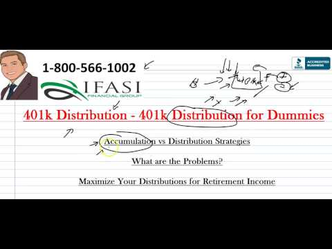 401k Distribution - Distribution from 401k