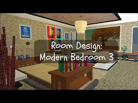 Roblox | Bloxburg Room Designs: Modern Bedroom 2 | Ep.4 (24k)