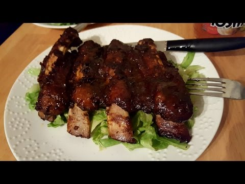 Oven baked smoked beef back ribs recipe#toronto