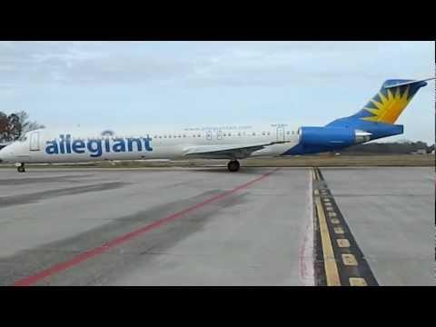 Allegiant FLT. 652 Arrives SBY AIRPORT