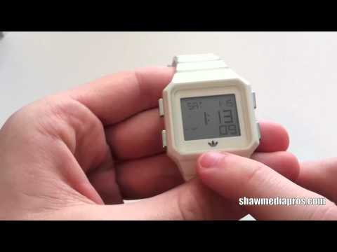 Adidas Peachtree Watch ADH4000 (White): Review