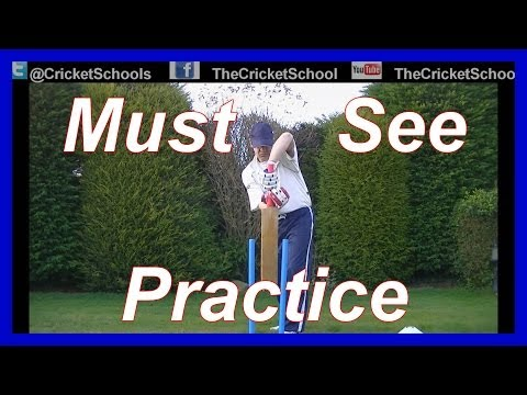 Cricket Practice HD Video on Back Lift